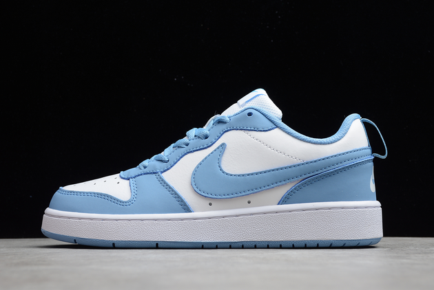 2021 New Nike Court Borough Low 2 UNC For Sale BQ5548-110