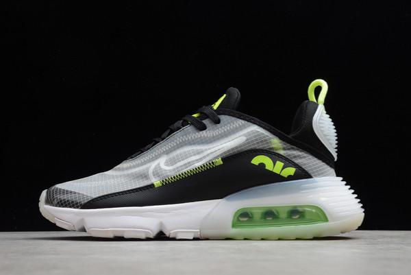 2021 Cheap Nike Air Max 2090 Lemon Venom Pure Platinum Black-Lemon Venom CT1803-001