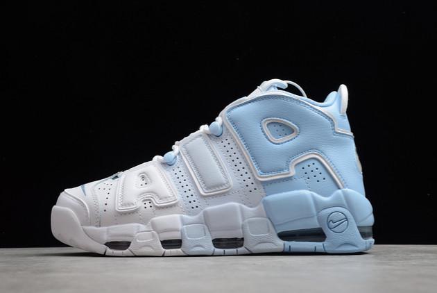 2021 Discount Nike Air More Uptempo Sky Blue DJ5159-400