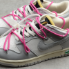 2021 New Off-White x Nike SB Dunk Low The 50 White Grey Pink Sale DM1602-122-1