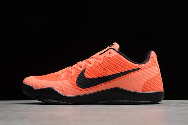 2021 Nike Kobe 11 Bright Mango Bright Crimson-Black Sale Online 836183-806
