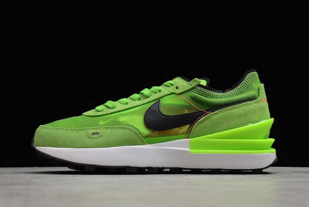 2021 Cheap Nike Waffle One Electric Green Electric Green/Black-Mean Green DA7995-300