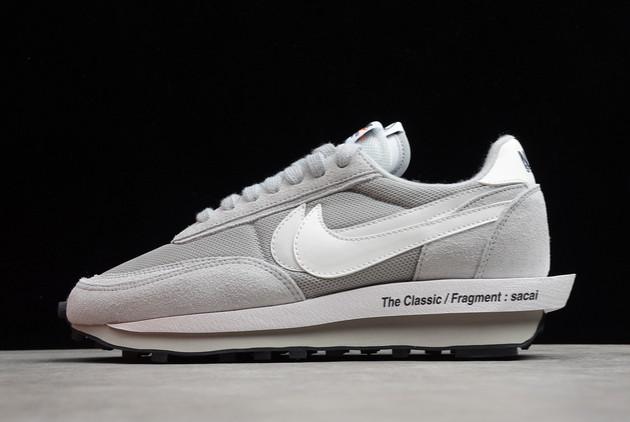 Discount Fragment x Sacai x Nike LDWaffle Wolf Grey White DH2684-001