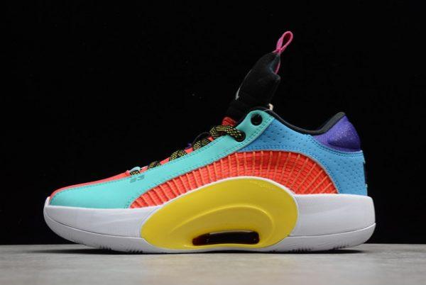Men's Air Jordan 35 Low Reflexology Multi-Color Sneakers DJ2831-300