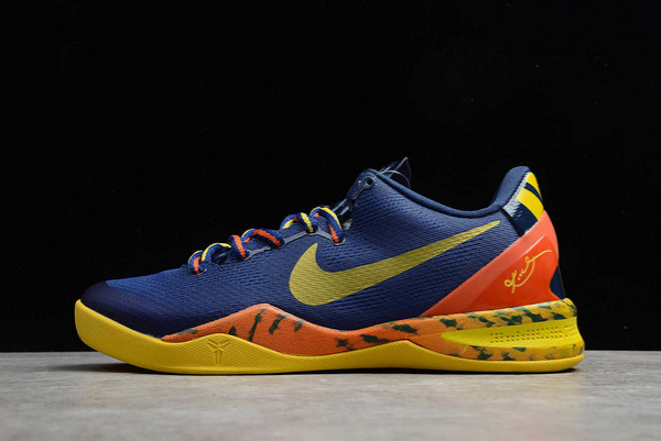 2021 Cheap Nike Kobe 8 System Barcelona Tiger 555035-402