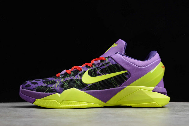 2021 Cheap Nike Zoom Kobe 7 Supreme Christmas Leopard 488244-500