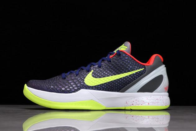 2021 Nike Zoom Kobe 6 VI Supreme Chaos For Sale 446442-500