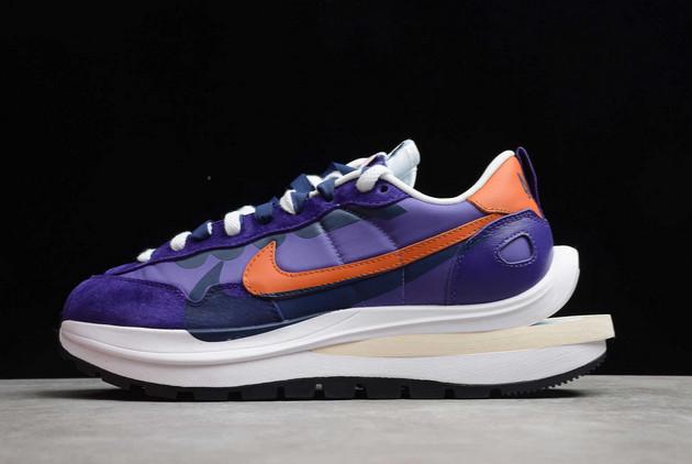 Buy Sacai x Nike VaporWaffle Dark Iris/Campfire Orange-White DD1875-500