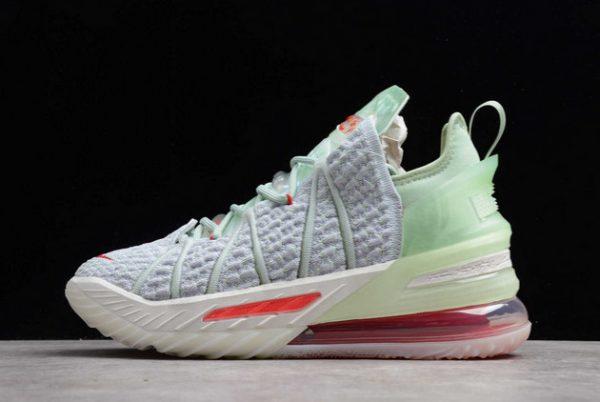 Men's Nike LeBron 18 EP Empire Jade Sneakers DB7644-002