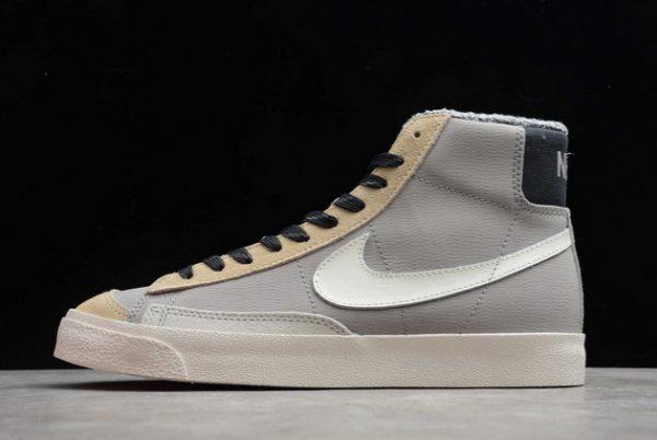 "Nike Blazer Mid 77 Vintage ""Wild"" College Grey/Light Bone-Oatmeal ..."