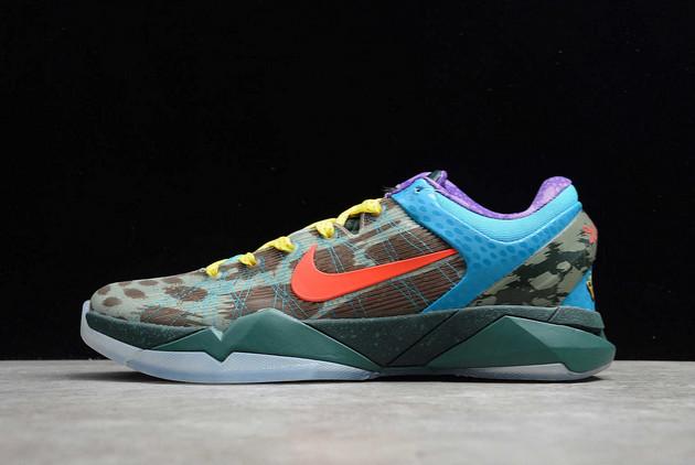Nike Zoom Kobe 7 System What The Bamboo/Tropical Twist-Hasta-Seaweed On Sale 488371-200