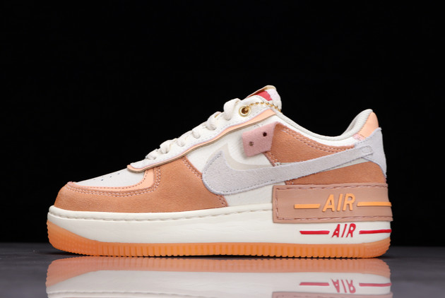 nike air force 1 shadow sisterhood cashmere orange for sale dm8157 700