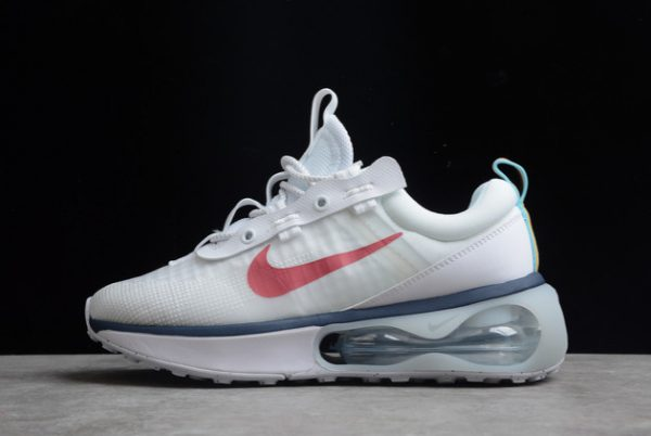 Nike Air Max 2021 White Navy-Red For Sale DC9478-100