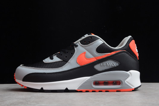 Nike Air Max 90 Radiant Red Black Radiant Red-White-Wolf Grey For Sale CZ4222-001