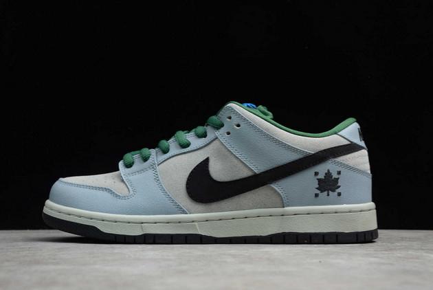 Nike SB Dunk Low Premium Maple Leaf Dove Grey Black-Gorge Green For Sale 313170-021