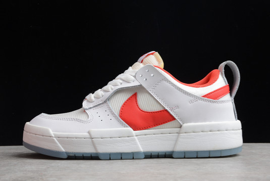 Nike Dunk Low Disrupt Summit White Gym Red For Sale CK6654-101
