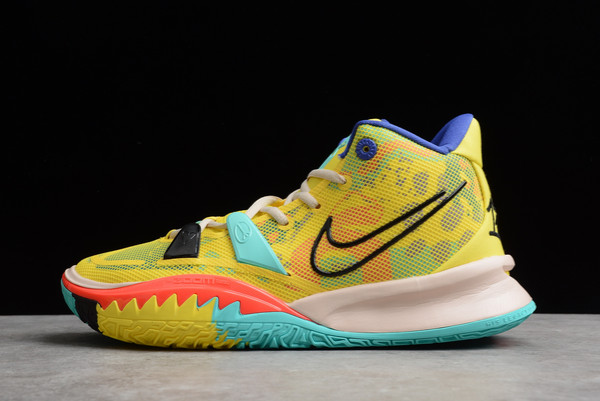 Nike Kyrie 7 EP 1 World 1 People Yellow For Sale CQ9327-700