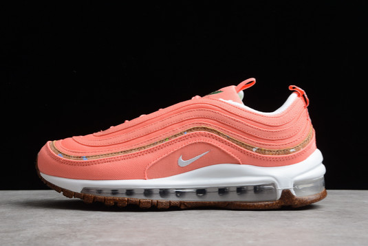 Nike Wmns Air Max 97 Cork Coral Pink For Sale DC4012-800