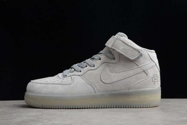 Reigning Champ x Nike Air Force 1 Mid Wolf Grey For Sale GB1119-198